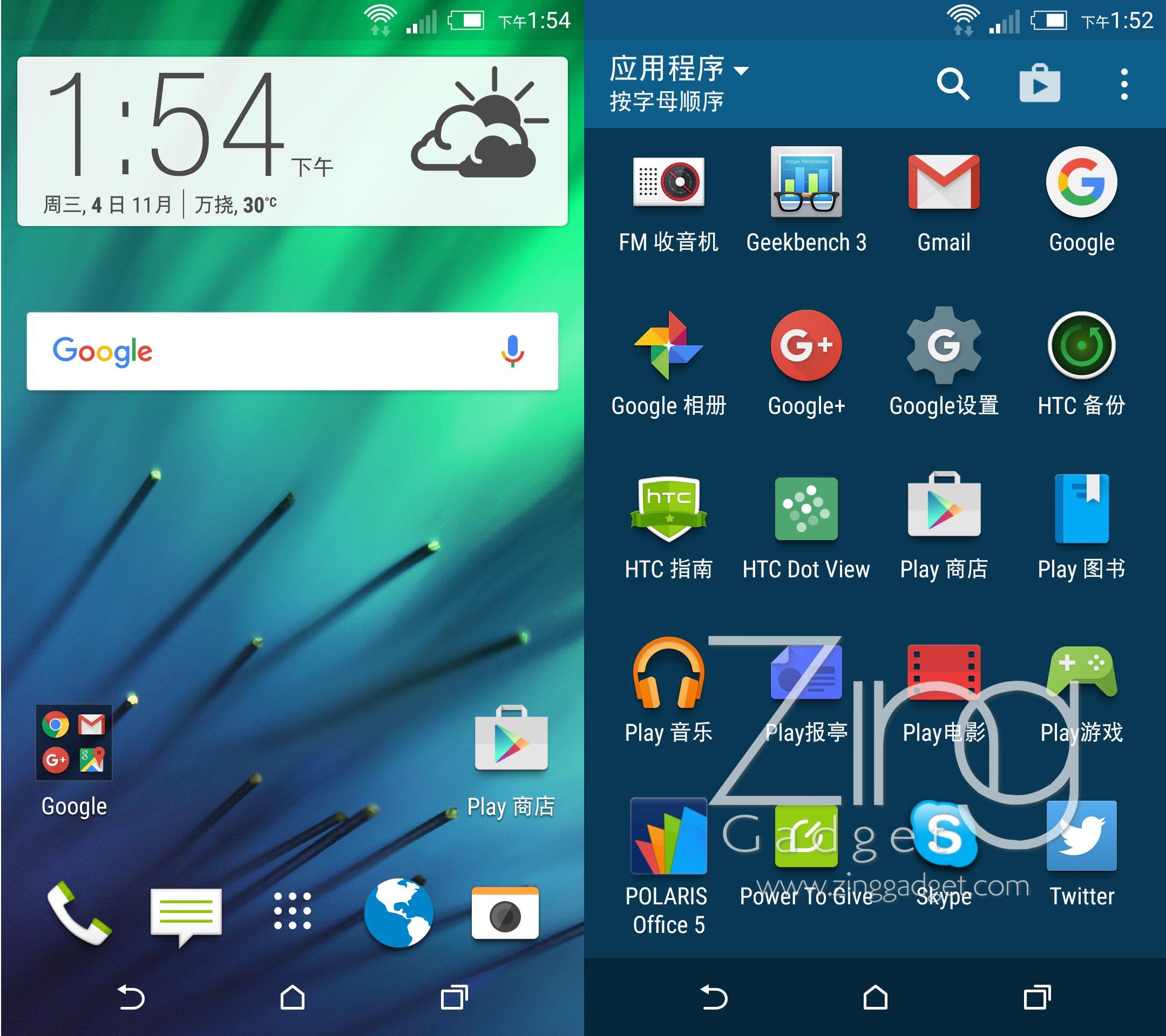 HTC M8 EYE Review U1