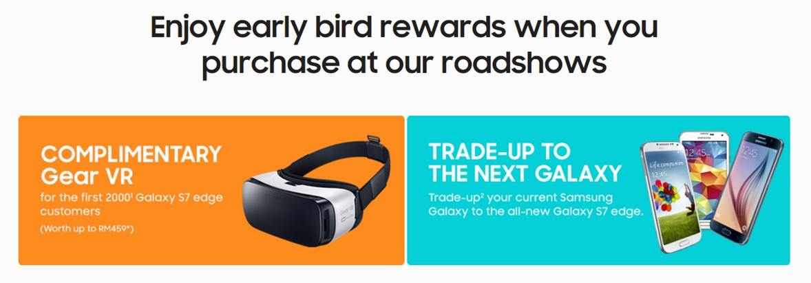 Third deal from Samsung: Free Gear VR for first 2000 Galaxy