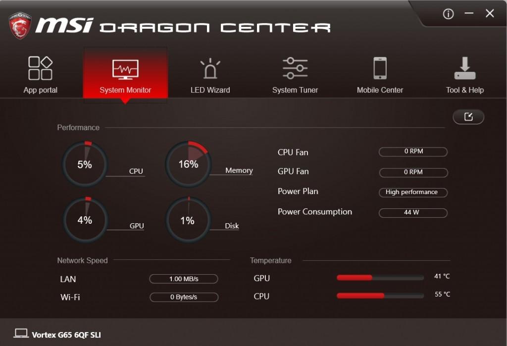 vortex dragon center
