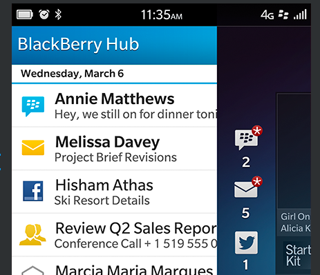 Blackberry-Hub