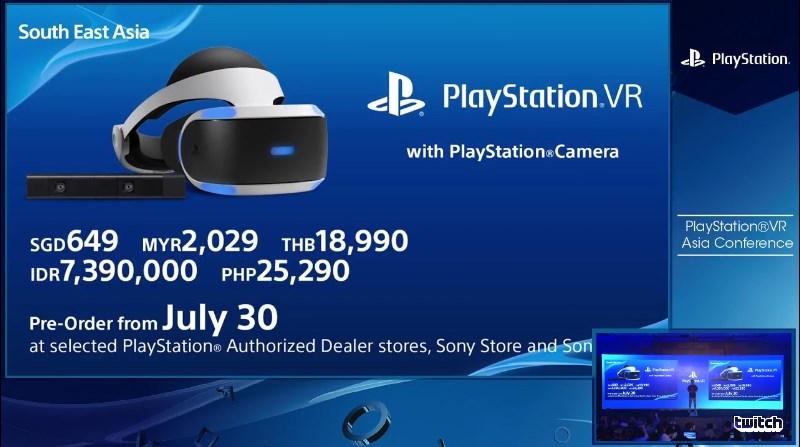 PlayStation VR akan mula dijual di Malaysia pada 13 Oktober pada harga runcit RM1849 2