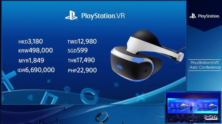 PlayStation VR akan mula dijual di Malaysia pada 13 Oktober pada harga runcit RM1849 1