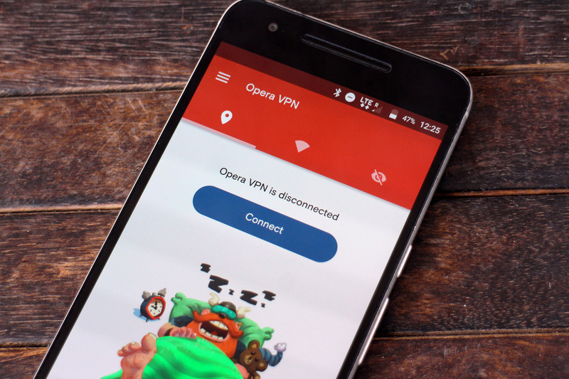 Opera-vpn-android