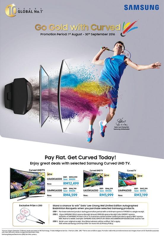 Smashing Great Deals - Samsung TV