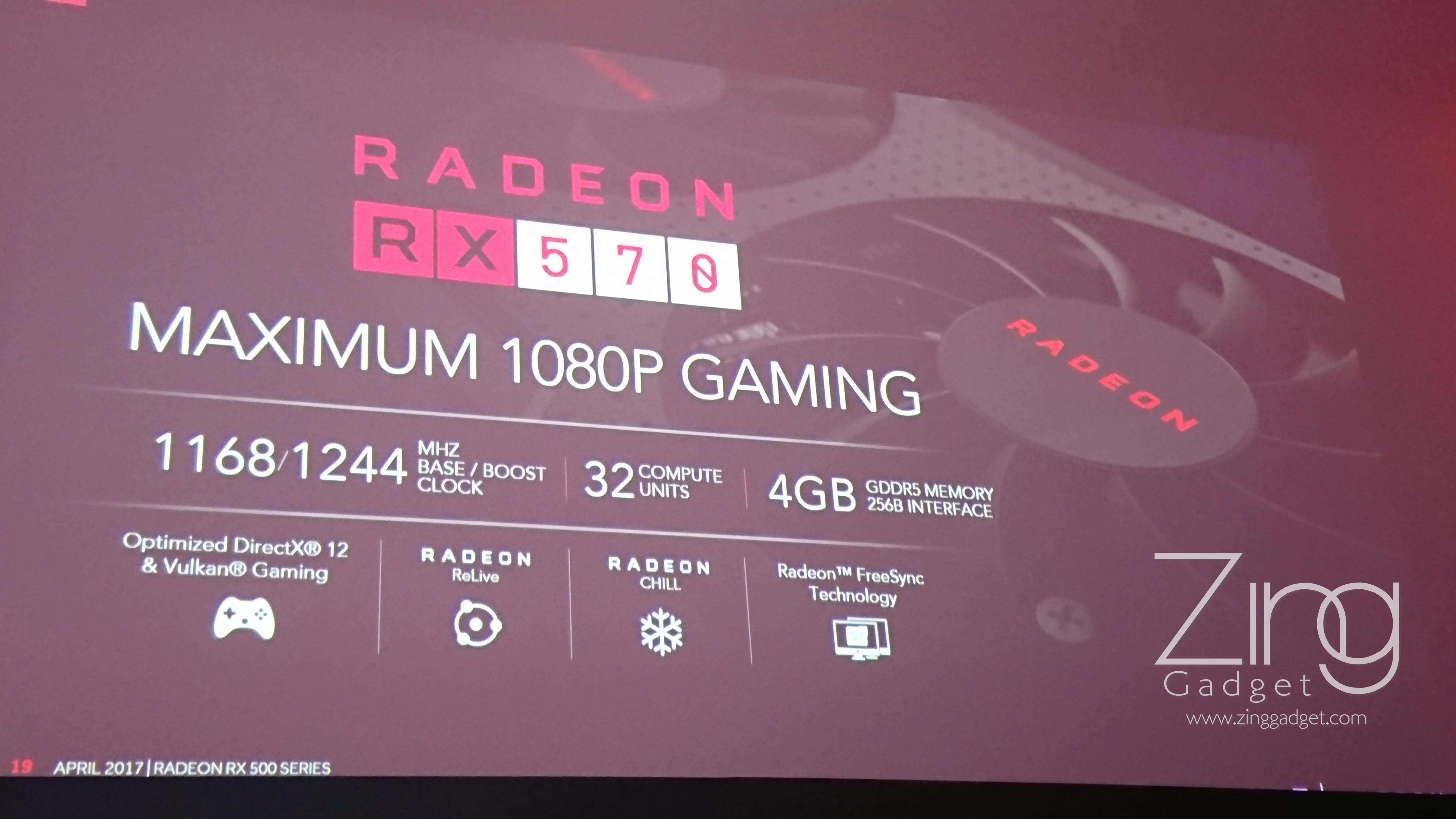 AMD launches Ryzen 5 processor and RX500 series graphics
