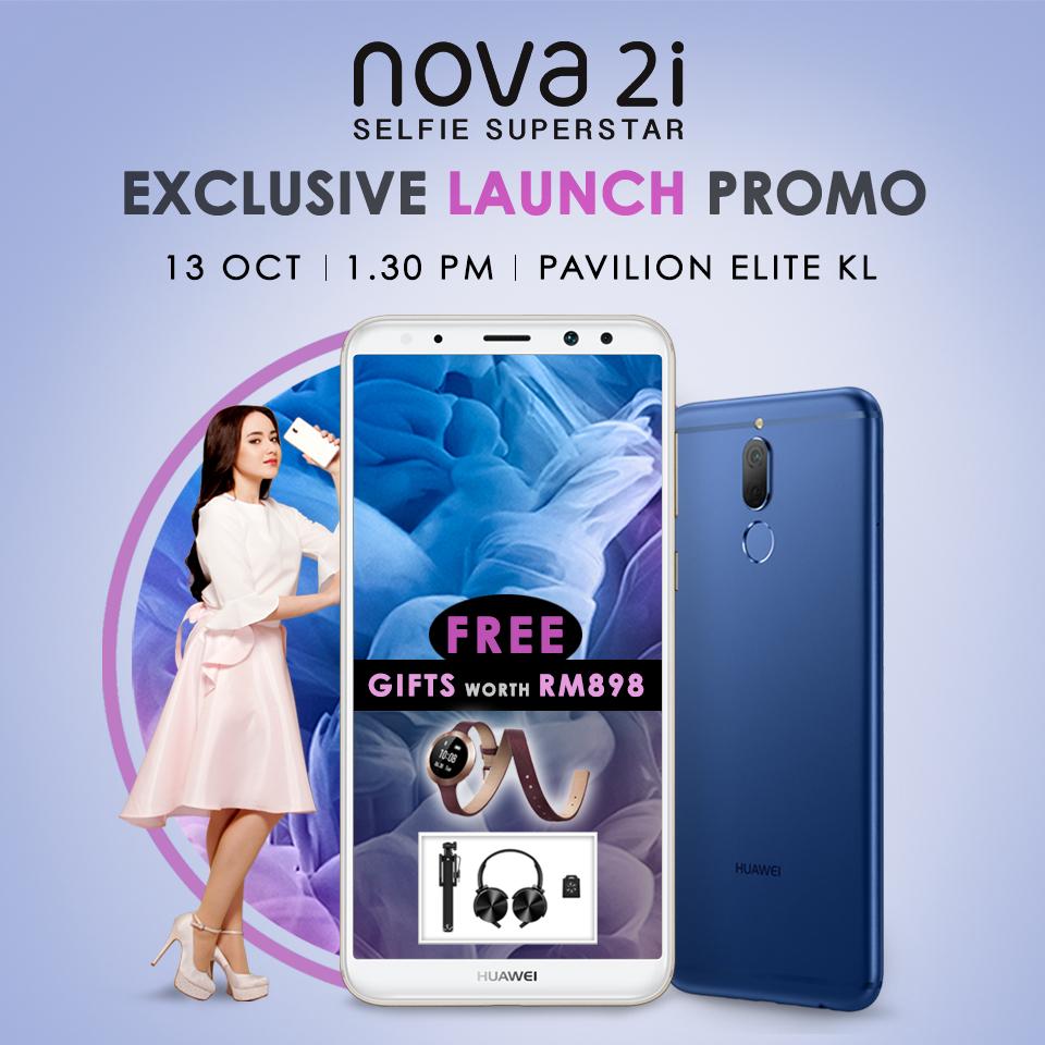 HUAWEI nova 2i Exclusive Launch Promo