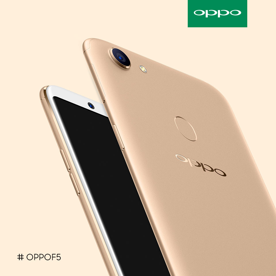 OPPO F5 is now available at price of RM1099
