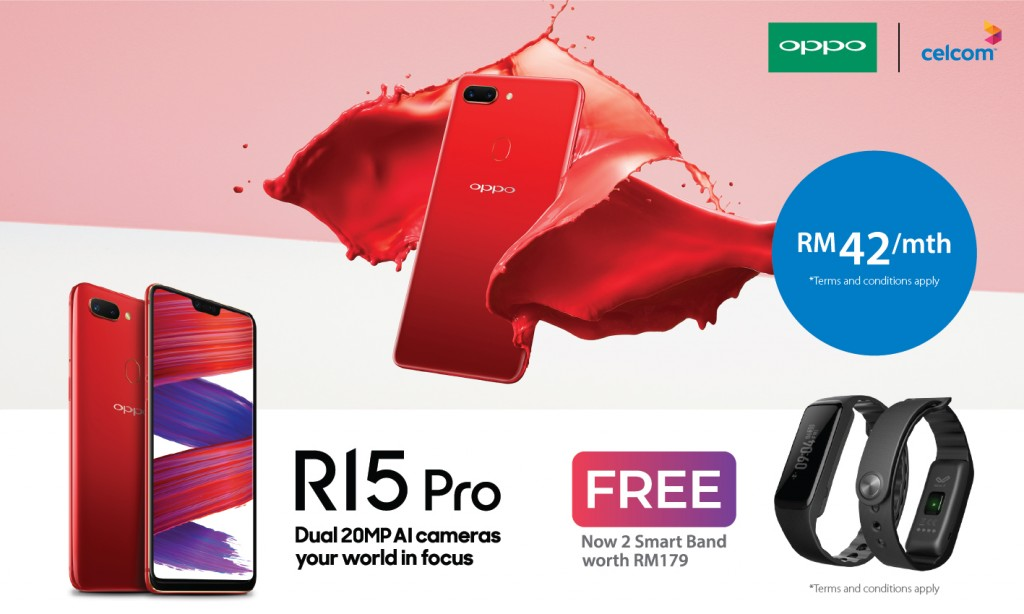 OPPO R15 Pro Promotion (Celcom)